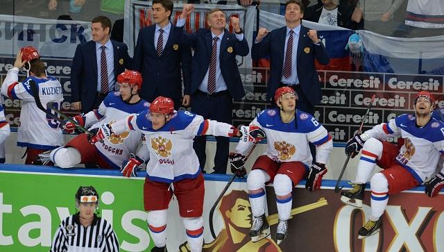 بالصور .. روسيا بطلة للعالم بهوكي الجليد