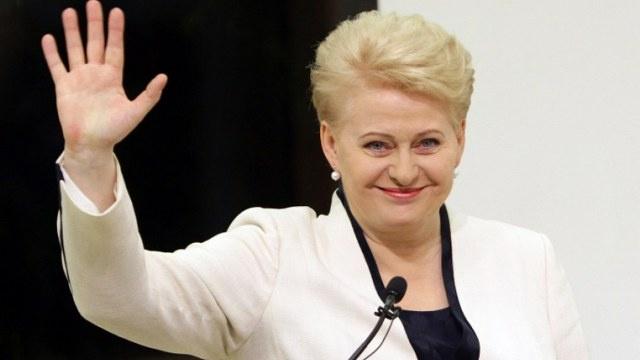 غريباوسكايتي رئيسة لليتوانيا لولاية ثانية