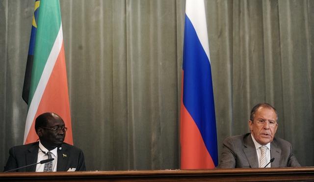 لافروف: روسيا تدعم تطبيع الوضع في جنوب السودان