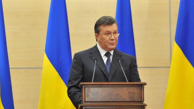 يانوكوفيتش يعلن احترامه لخيار الشعب في الانتخابات الرئاسية ويدعو الى وقف الحرب