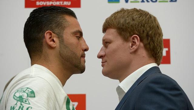 الملاكمة .. الروسي بوفيتكين يواجه