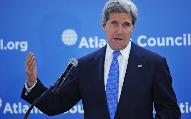 جون كيري: واشنطن ستؤيد الرئيس القادم من أجل أوكرانيا موحدة