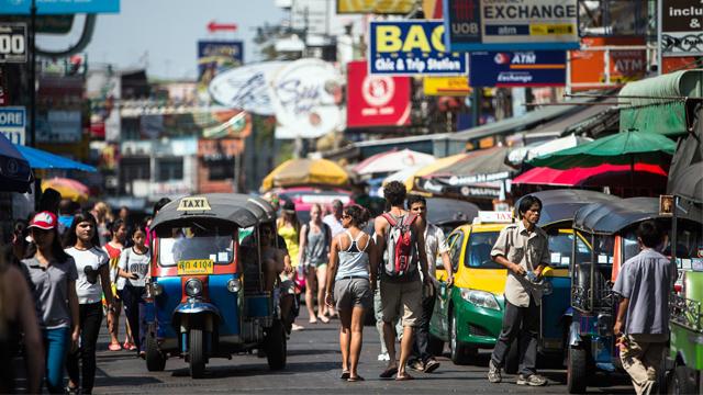ارتفاع عدد السياح الروس إلى تايلاند رغم المخاطر