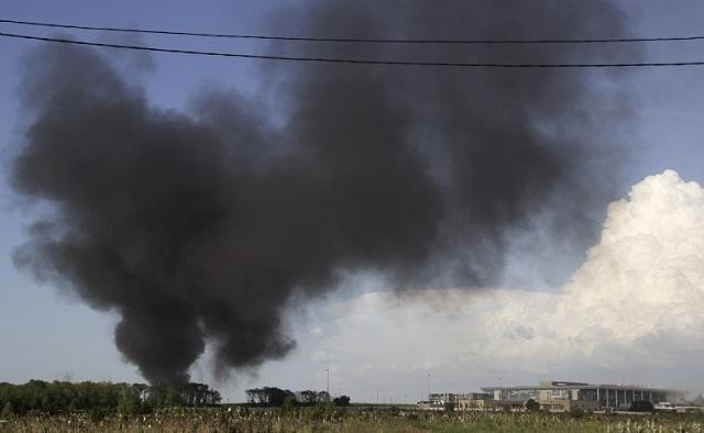 اشتباكات متواصلة بين قوات الدفاع الشعبي والعسكريين بجنوب شرق أوكرانيا