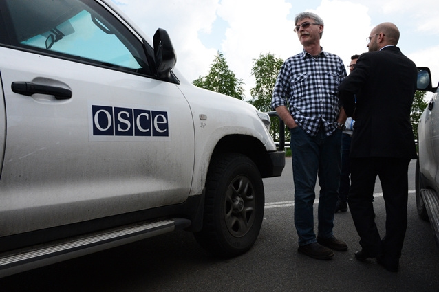عودة فريق المراقبين الأوروبيين الذي كان قد فقد إلى دونيتسك