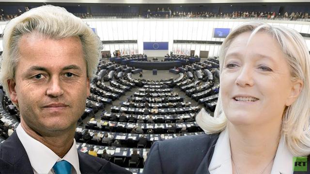 لوبان وفيلدرز يتفقان على تشكيل كتلة لليمين المتطرف في البرلمان الأوروبي