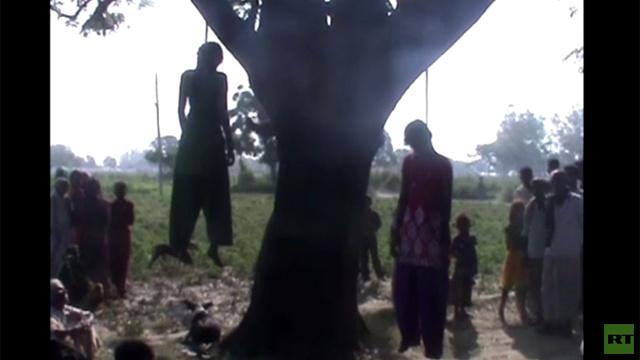 بالفيديو.. العثور على جثتي فتاتين شقيقتين بعد تعرضهما لاغتصاب جماعي جديد في الهند