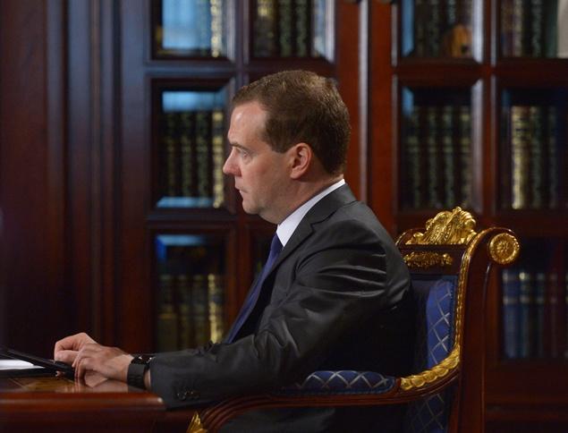 مدفيديف: أوكرانيا سددت جزءا من دين الغاز الروسي