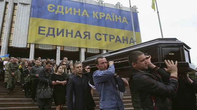 أكثر من 50 قتيلا خسائر حملة كييف الأمنية منذ بدايتها بجنوب شرق أوكرانيا