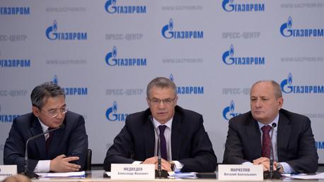 غازبروم: عقد الغاز مع الصين سيشكل قاطرة نمو للاقتصاد الروسي