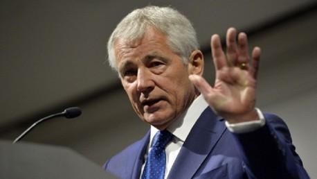 هاغل: الوضع في العراق يدفعنا الى تعزيز قواتنا العسكرية