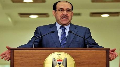 المالكي يأمر بطرد 59 ضابطا من الخدمة لعدم تصديهم لمسلحي