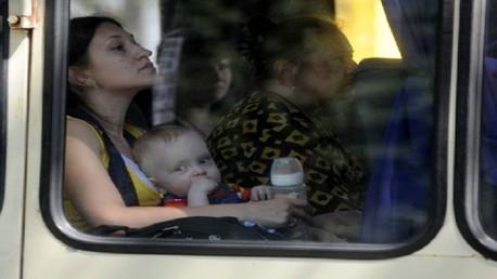 وزارة الطوارئ الروسية: 19 ألف لاجئ أوكراني في روسيا