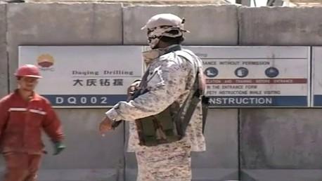 إجلاء بعض الموظفين الأجانب من العراق