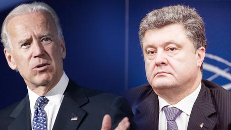 واشنطن تؤيد خطة بوروشينكو لوقف إطلاق النار