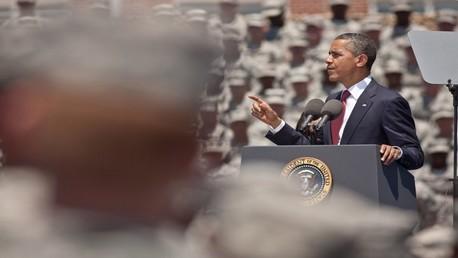 أوباما يبلغ الكونغرس أنه لا يحتاج الى تفويضه للتدخل عسكريا في العراق