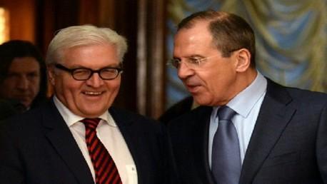 لافروف يبحث الوضع في أوكرانيا مع شتاينماير