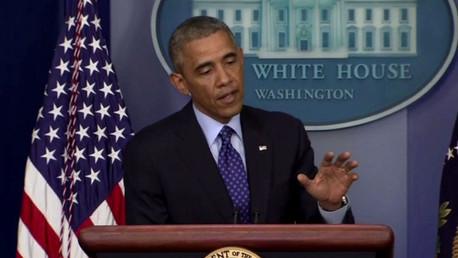 أوباما: مستعدون لعمل عسكري في العراق إذا تطلب الأمر ذلك