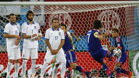 تعادل بطعم الهزيمة لليابان أمام اليونان فيمونديال 2014