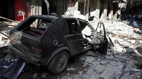مقتل 35 شخصا وجرح أكثر من 50 بانفجار سيارة مفخخة في ريف حماة