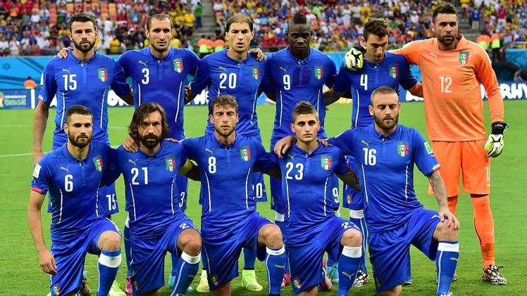 إيطاليا تأمل تجنب مصير الأوروغواي أمام كوستاريكا قبل مواجهة سواريز