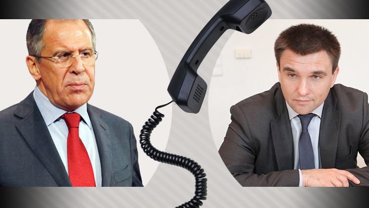 لافروف يأمل أن يساهم وزير الخارجية الأوكراني الجديد في تعزيز التعاون بين موسكو وكييف