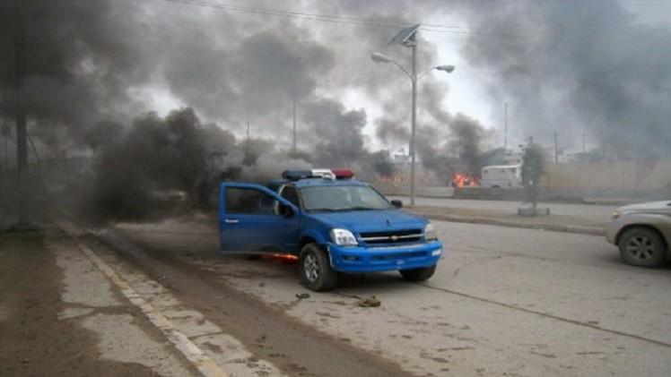 مقتل 34 من القوات الأمنية العراقية في مواجهات قرب الحدود السورية