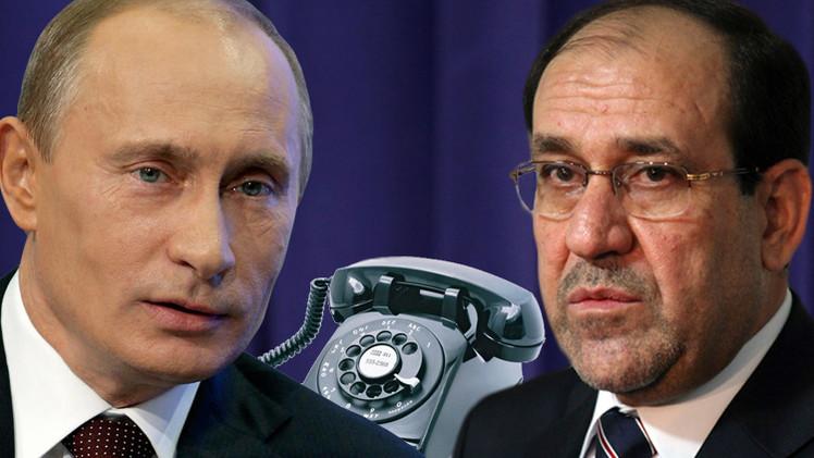 بوتين يؤكد دعم موسكو لجهود حكومة المالكي في تحرير العراق من الإرهابيين