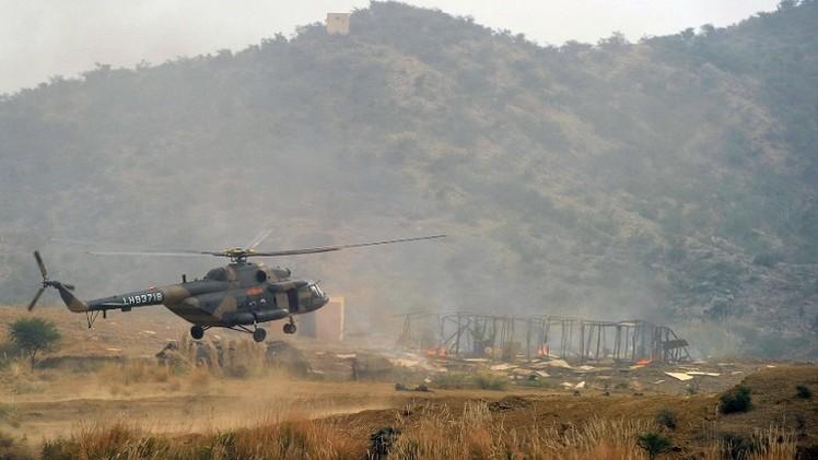 مقتل 30 مسلحا في غارة جوية شمال غرب  باكستان