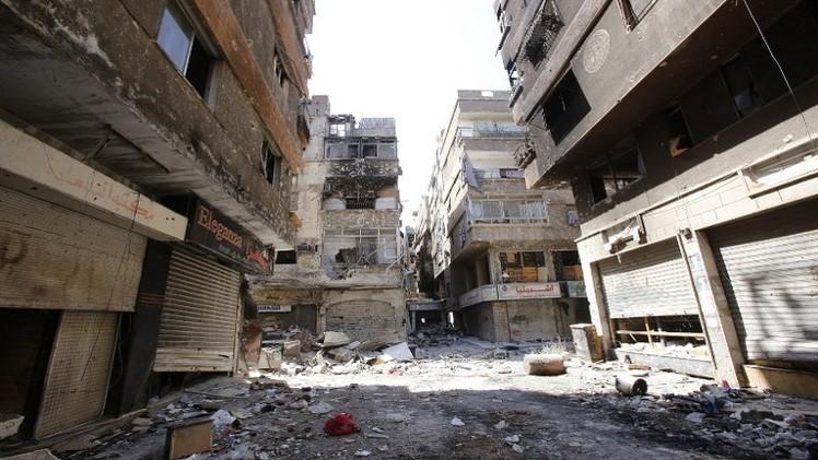 توقيع اتفاق لتحييد مخيم اليرموك في دمشق