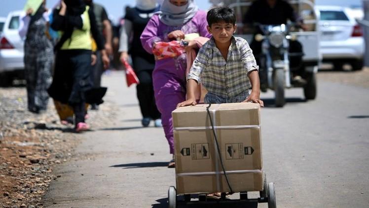 الأمم المتحدة: أكثر من مليون عراقي نزحوا إثر المعارك الأخيرة