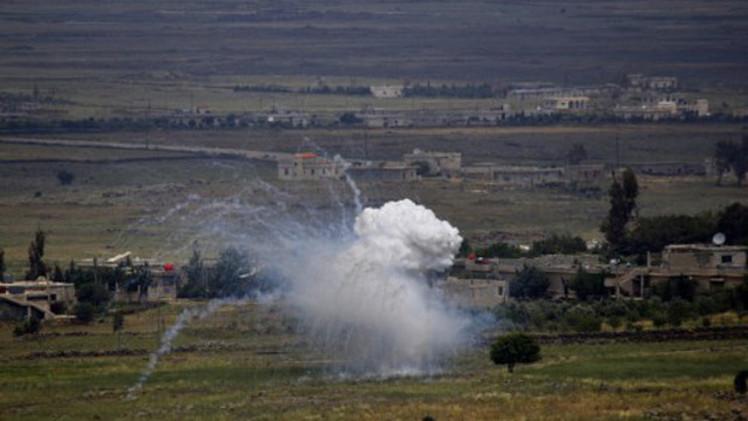 مقتل 10 جنود سوريين في غارات إسرائيلية على مواقع سورية في الجولان