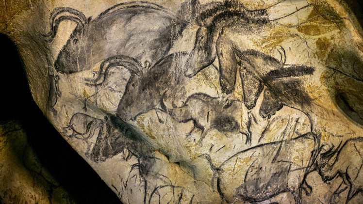 الكشف عن أقدم لوحات فنية رائعة لإنسان العصور الحجرية