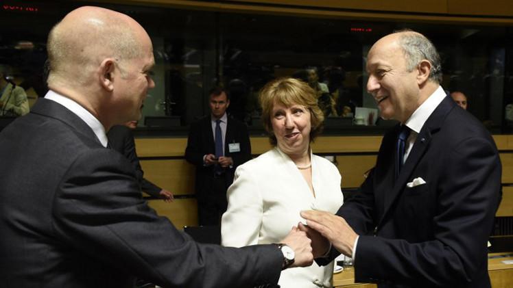 وزراء خارجية الاتحاد الأوروبي يؤيدون خطة التسوية في أوكرانيا