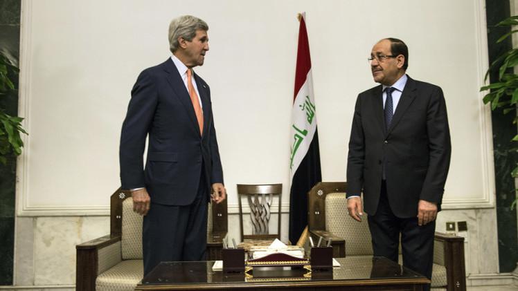 المالكي لكيري: الوضع في العراق يهدد السلام في المنطقة والعالم