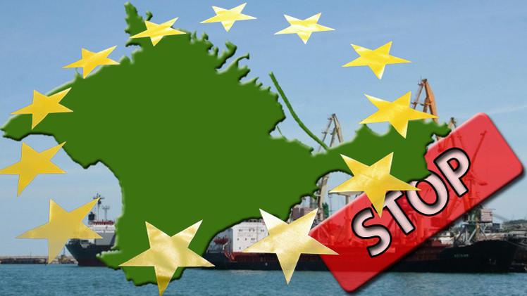 حظر أوروبي على استيراد البضائع من القرم