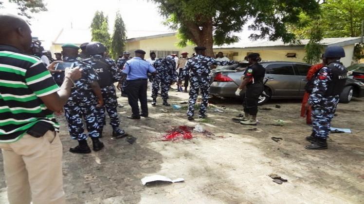 8 قتلى في انفجار قنبلة بمدينة نيجيرية