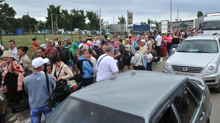 وزارة الطوارئ الروسية: عدد اللاجئين الأوكرانيين بمراكز الإقامة في روسيا تجاوز 14 ألف شخص
