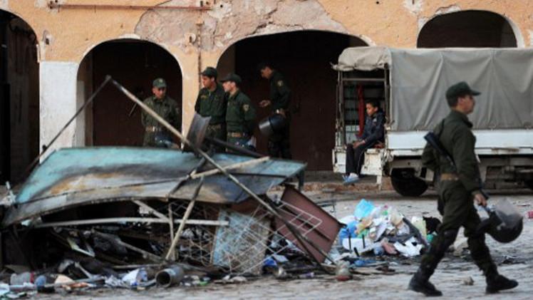 إصابة 10 أشخاص بجروح في أعمال عنف بوسط الجزائر