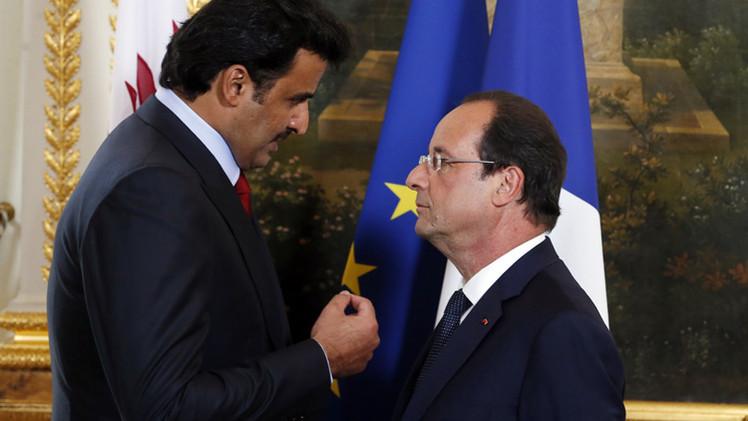 أمير قطر يوقع عدة عقود واتفاقيات في باريس