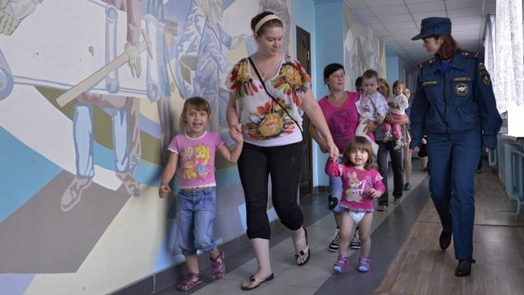 هيئة الهجرة الروسية: أكثر من 500 ألف أوكراني في مقاطعة روستوف الروسية