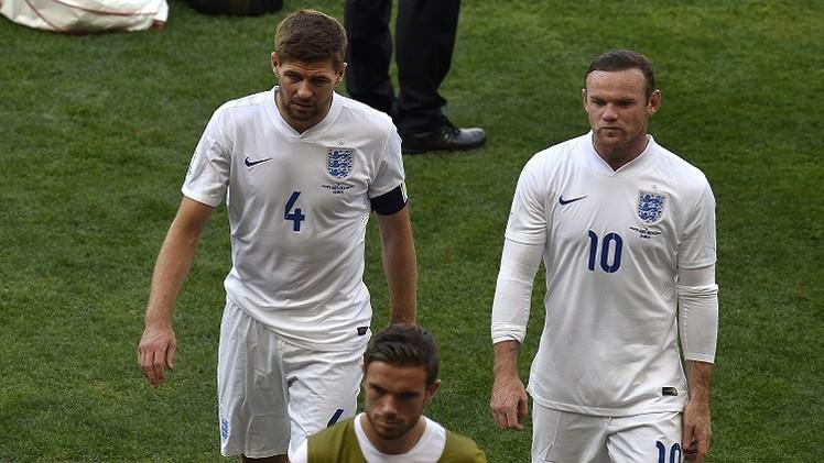خروج مذل لإنكلترا من مونديال 2014