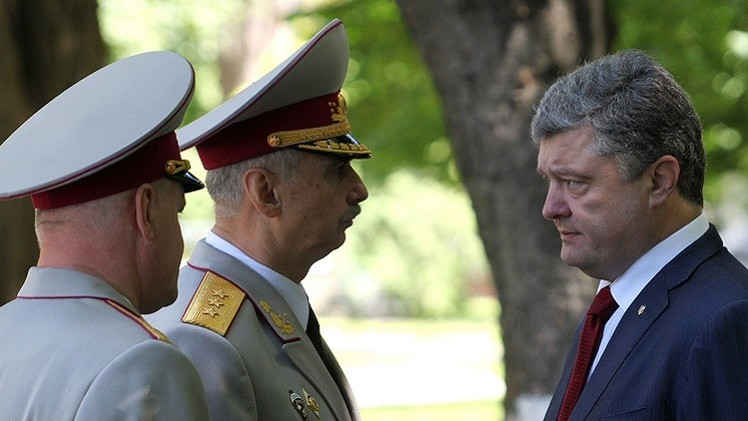 الرئيس الأوكراني لا يستبعد إلغاء الهدنة في جنوب شرق البلاد قبل انتهاء مدتها