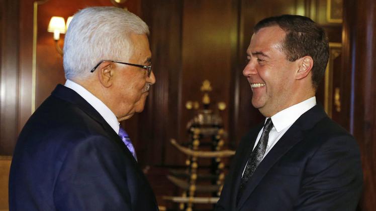 مدفيديف يؤكد دعم موسكو لسعي الشعب الفلسطيني في بناء دولته المستقلة