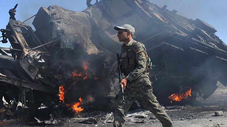 مقتل 150 شخصا في هجوم لعناصر من طالبان على الجيش الافغاني