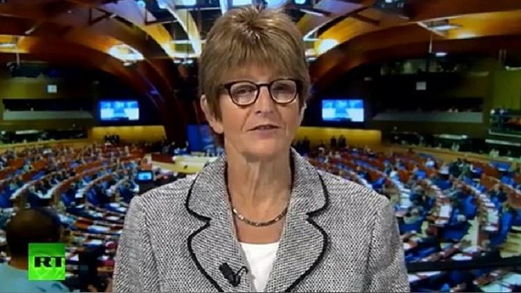 مجلس أوروبا يرحب بتخلي روسيا عن حق استخدام قواتها في أوكرانيا