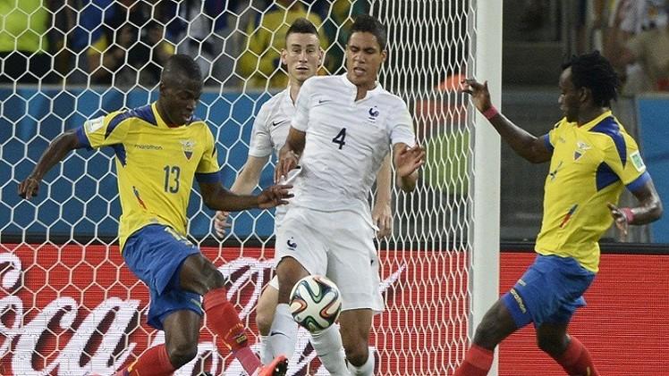 فرنسا سيدة المجموعة الخامسة رغم تعادلها سلبا أمام الإكوادور