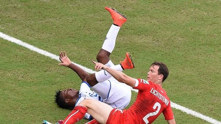 سويسرا تصعد لدور الـ 16 للمونديال بصحبة فرنسا