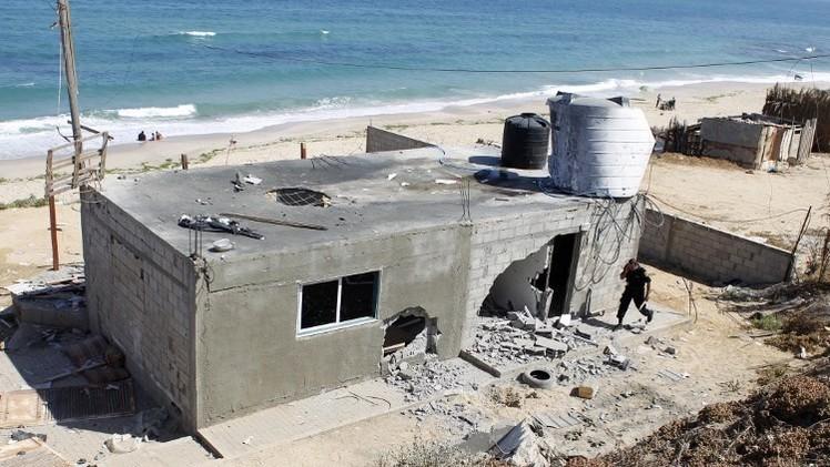 جرح شرطيين من حماس في غارات إسرائيلية على قطاع غزة