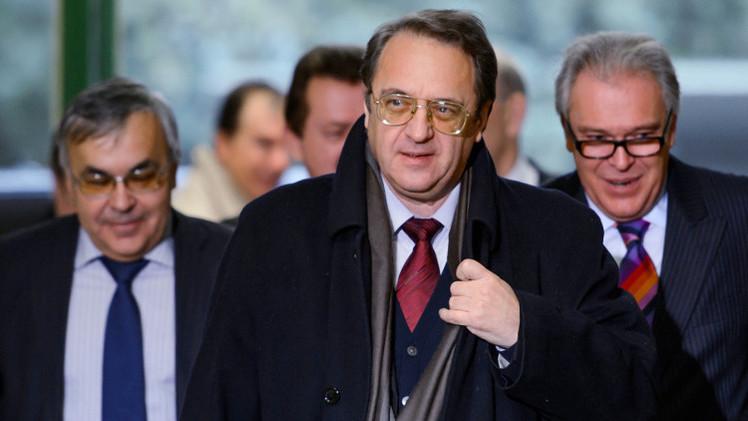 بوغدانوف: اقترحنا منذ مدة عقد لقاء ثلاثي حول سورية ولا نزال بانتظار رد واشنطن
